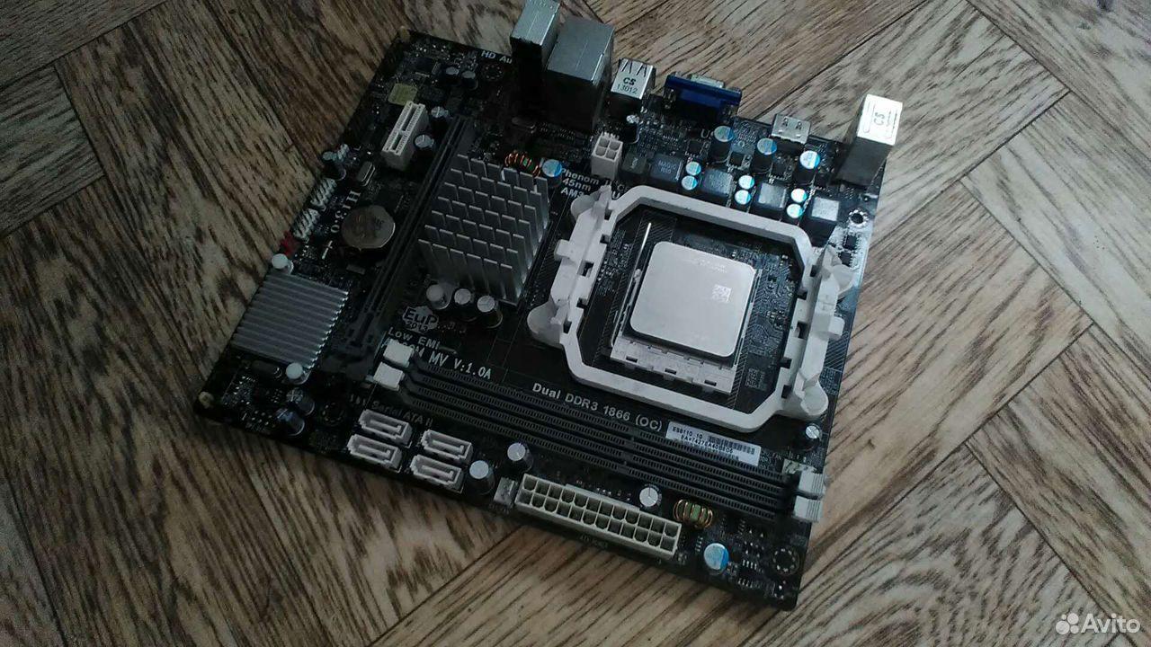 Материнская плата с процессором 4 ядра 4 потока  89514889505 купить 1