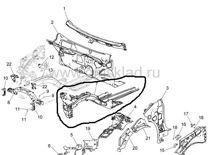 Лонжерон Chevrolet Orlando Шеви Орландо 12