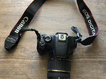 Фотоаппарат Canon 550d с профессиональным объектив