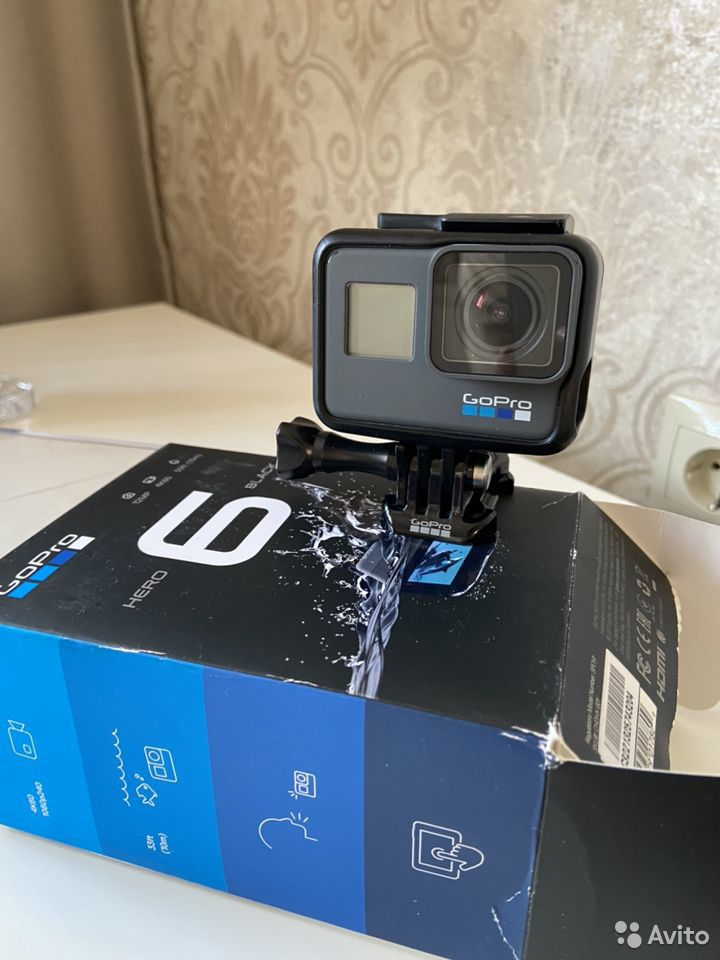 Камера GoPro Hero Black 6  89888783777 купить 3