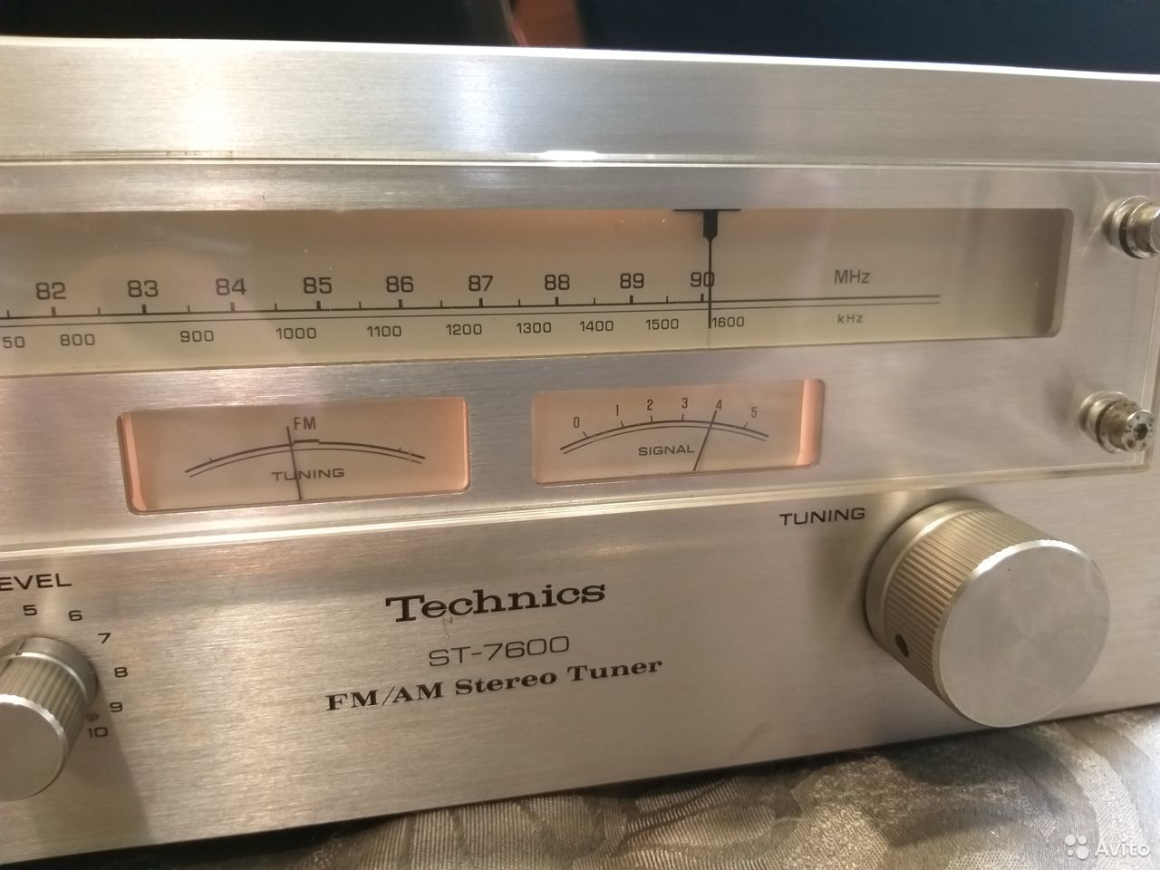 Тюнер Technics ST-7600  89084405797 купить 4