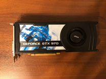 NVidia Geforce MSI GTX970 4Gb, 256bit, торг